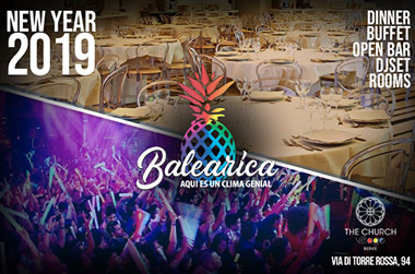 Capodanno Balearica Church Village Roma