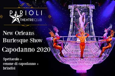 Capodanno Parioli Theatre club Roma