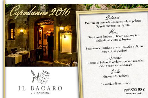 Capodanno Il Bacaro Roma