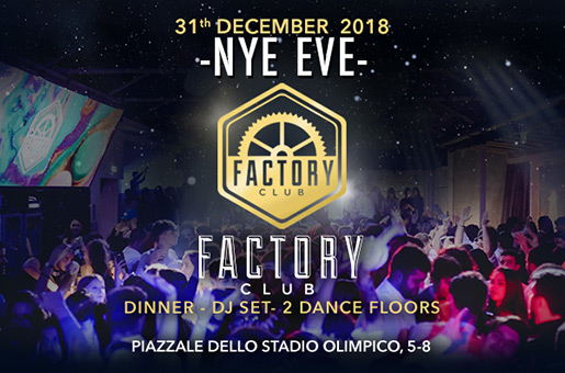 Capodanno Factory Club Roma