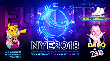 Capodanno New year's Eve Eur City Roma