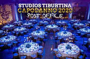 Capodanno Post Office Studios Tiburtina Roma